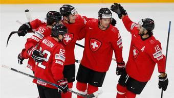 Die Schweizer stehen im Viertelfinal.