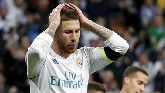 Sergio Ramos ist bei Reals 2:3-Niederlage in Sevilla die Figur des Spiels