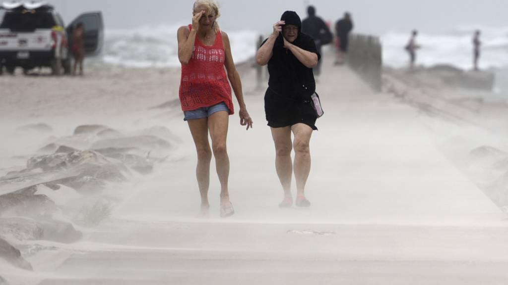 Hurrikan «Nicholas» erreicht Texas