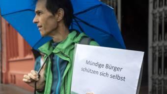Am vergangenen Wochenende wurde in Basel wieder demonstriert.