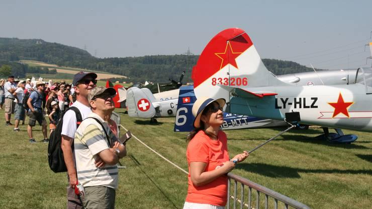 Das Flugplatz-Jubiläum (50 Jahre) wurde in Schupfart mit Flugtagen gefeiert.