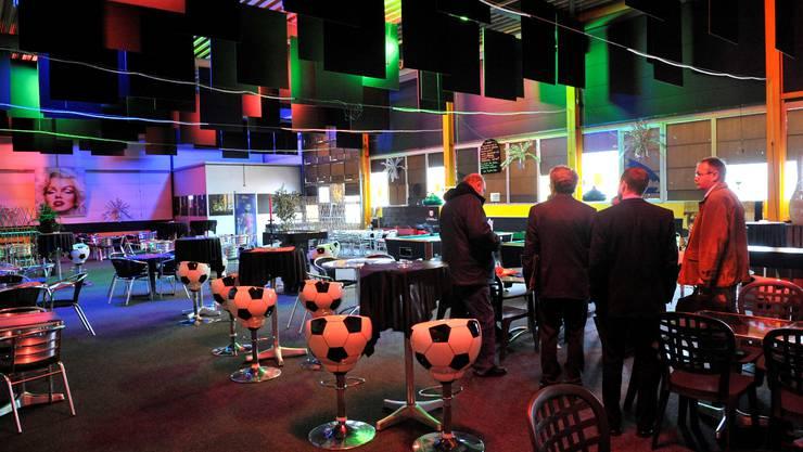 Der Tatort – in der Nacht auf den 9. Februar 2009 überfielen zwei Männer das Bowling- und Billard-Freizeitcenter bei Geschäftsschluss. ul