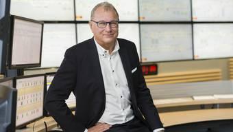 «Wer behauptet, im Verkehr komme es nicht auf die Grösse eines Unternehmens an, der hat nichts verstanden»: André Dosé in der Leitstelle am BLT-Hauptsitz in Oberwil.
