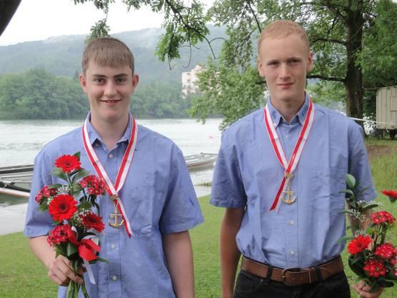 Die 3-fachen Saisonsieger Alex Bieri und Stefan Suter