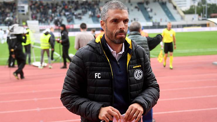Luganos Trainer Fabio Celestini steht in Lugano unter Druck