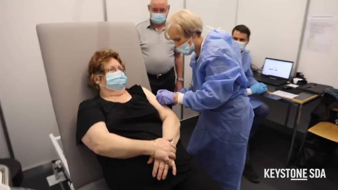 Impfstart ist nun auch im Kanton Bern erfolgt