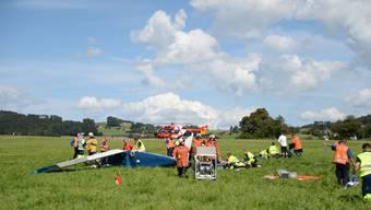 Flugzeugcrash in der Ostschweiz