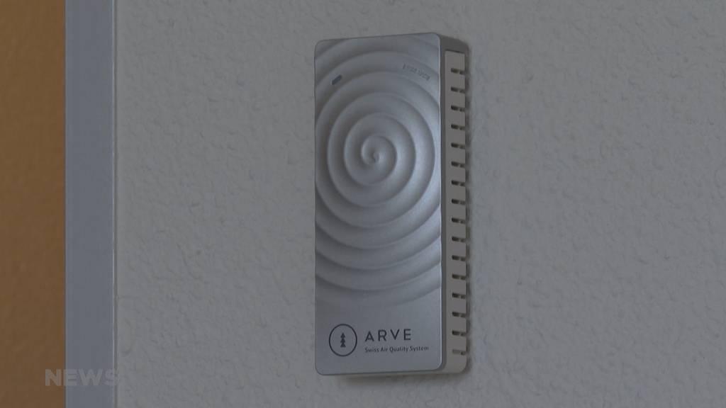 Dank neu entwickeltem Messgerät virenfreie Luft im Novotel Bern