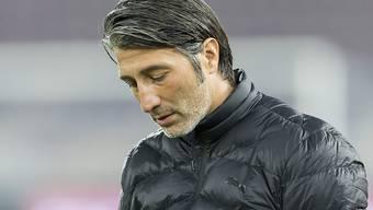 Murat Yakin musste die erste Niederlage als Trainer der Grasshoppers einstecken