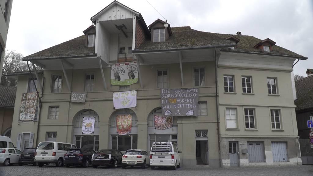Polizei räumt besetztes Haus an der Wasserwerkgasse