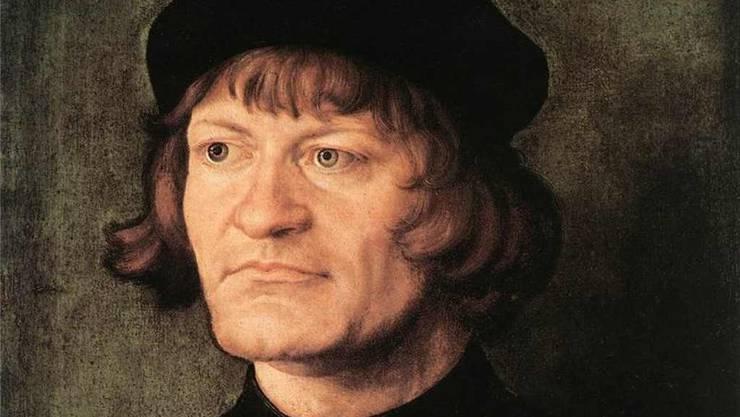 Umstrittenes Zwingli-Porträt von Albrecht Dürer (1516). Lebensechter als die bekannten von Hans Asper.