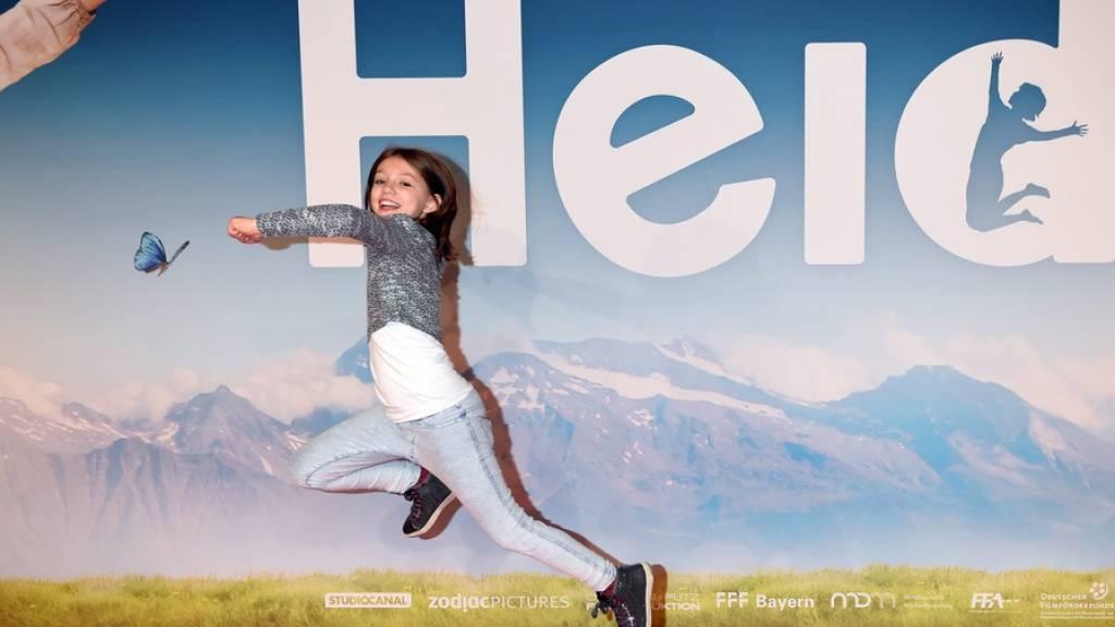 Überflieger in China: Der Schweizer Film «Heidi» mit Hauptdarstellerin Anuk Steffen lockte gut 700'000 Personen in die dortigen Kinos. (Archivbild)