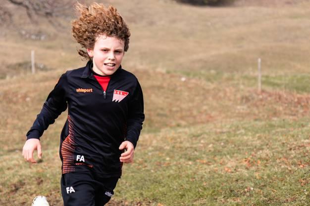 Der jüngste Läufer Finn Affolter (11) schaffte fast die Sensation.