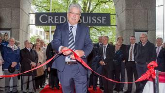 Neueröffnung des CS-Hauptsitz in Solothurn
