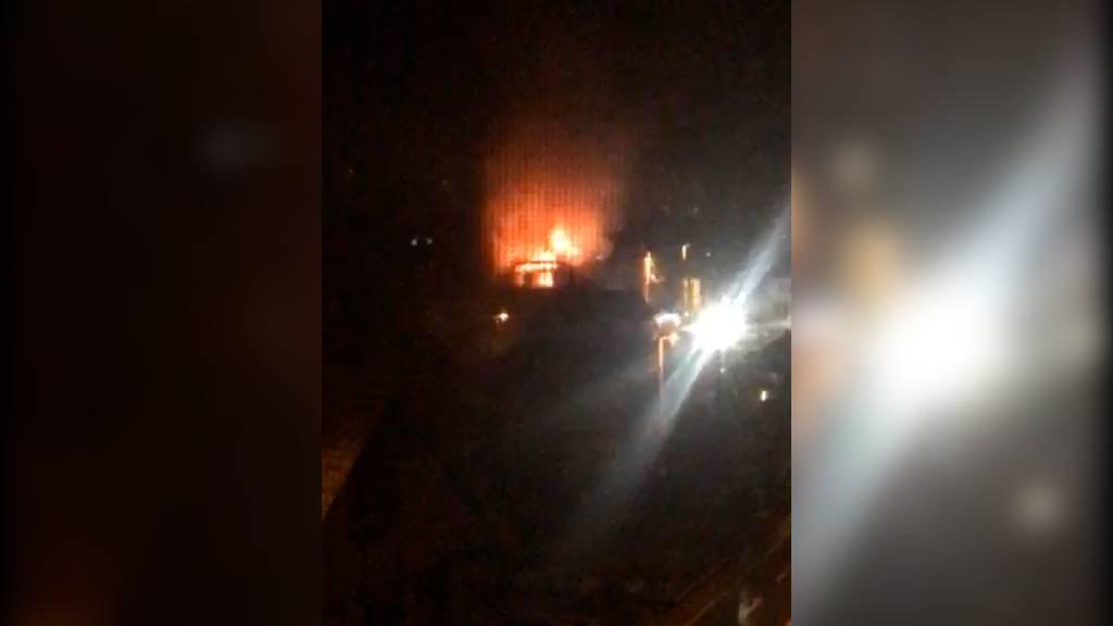 Brand bei Zigarrenhersteller Villiger: Wohnung komplett zerstört