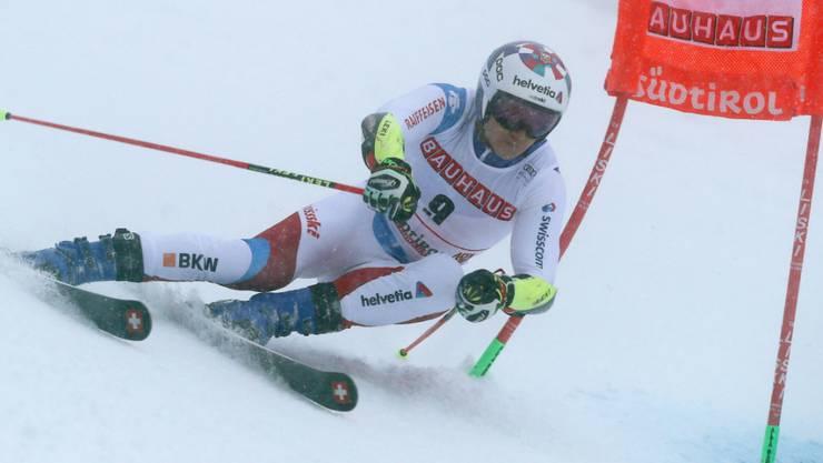 Marco Odermatt belegt nach dem ersten Lauf im japanischen Yuzawa Naeba den 3. Rang (Archivbild)