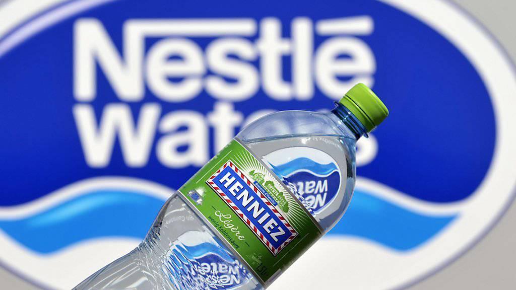 Mit Verkauf von Wasser hat Nestlé in den ersten neun Monaten 4,9 Prozent mehr eingenommen. Andere Produktegruppen von Nestlé können allerdings kein so starkes Wachstum mehr vorweisen.