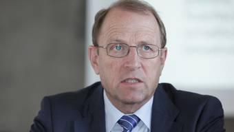 Regierungsrat Peter C. Beyeler.