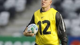Neben dem Spielfeld ist Rugby-Star Mike Tindall weniger seriös (Archiv)