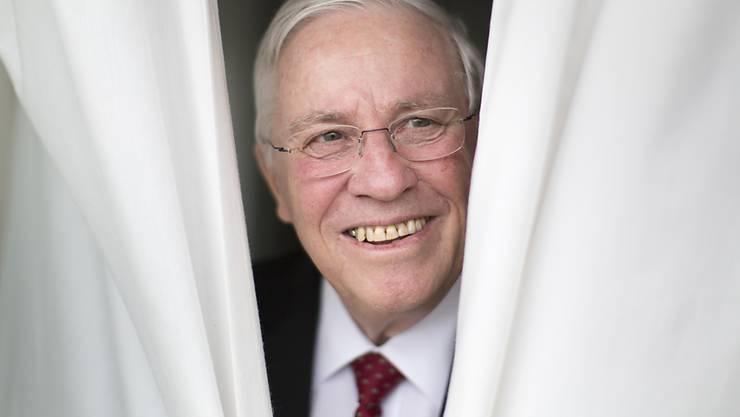 Er hält doch noch einen Teil seiner Bundesratsrente: SVP-Politiker Christoph Blocher. (Archivbild)
