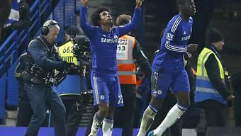 Willian schoss Chelsea in den Schlussminuten zum Sieg