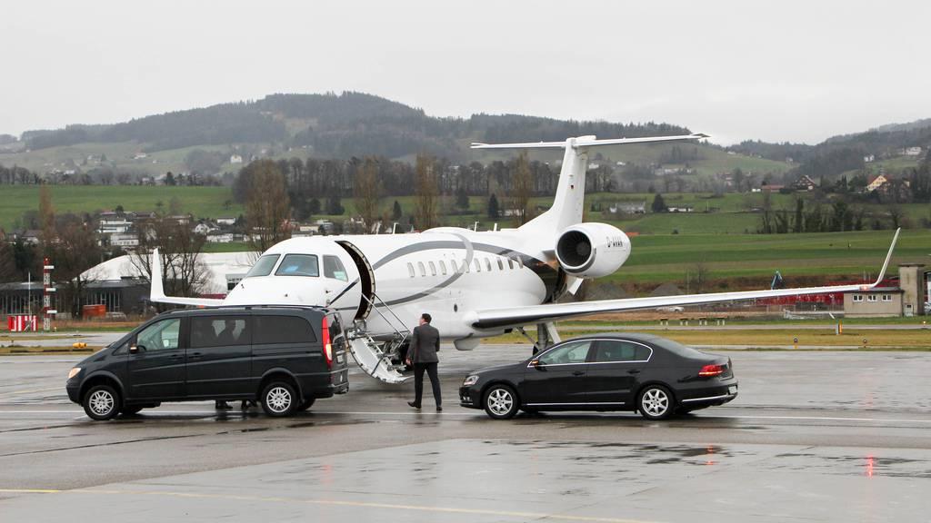 Flugplatz Altenrhein leidet unter WEF-Verschiebung