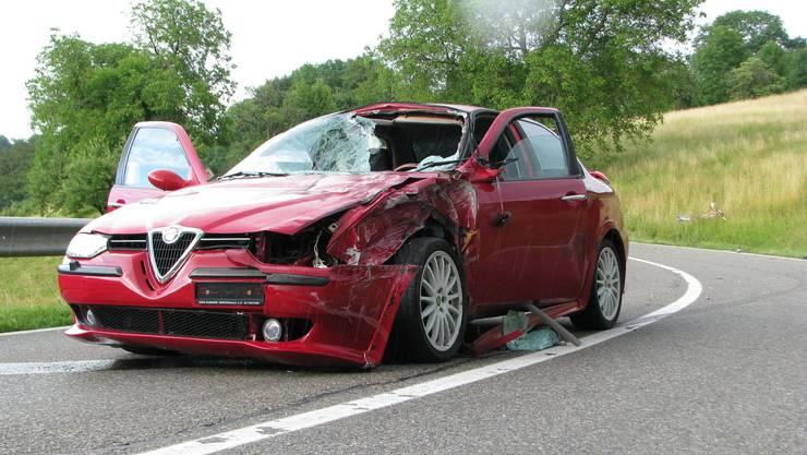 Der Raserunfall von Ennetbaden ereignete sich im Juni 2009
