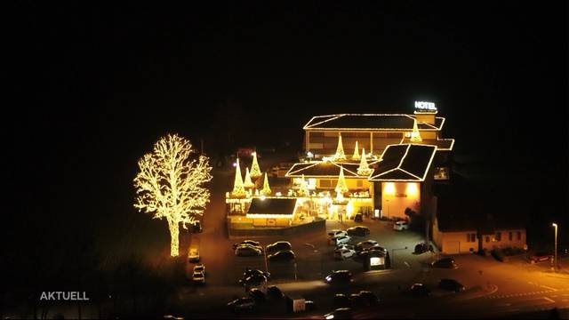 70'000 Lichter leuchten Autofahrer auf A1 entgegen