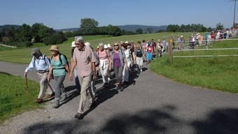 az-Leserwandern achte Etappe: Von Wohlen nach Bremgarten