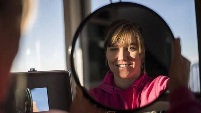 Fabienne Suter und die Macht der Gedanken: «Ich versuche, mich abzulenken.» Foto: Olivier Maire/Keystone