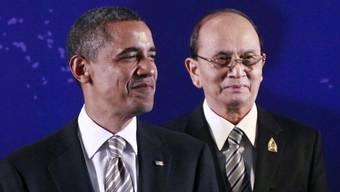 Barack Obama und Thein Sein (Archiv)