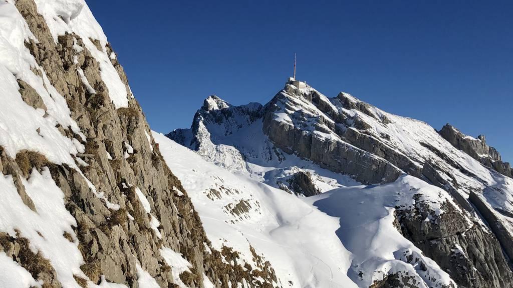 Tödlicher Unfall im Säntisgebiet – 27-jähriger Thurgauer Bergsteiger stürzt ab