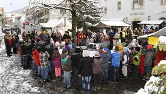 Dieses Jahr gibt es keinen Chlause-Märet im Dorf. (Archiv)