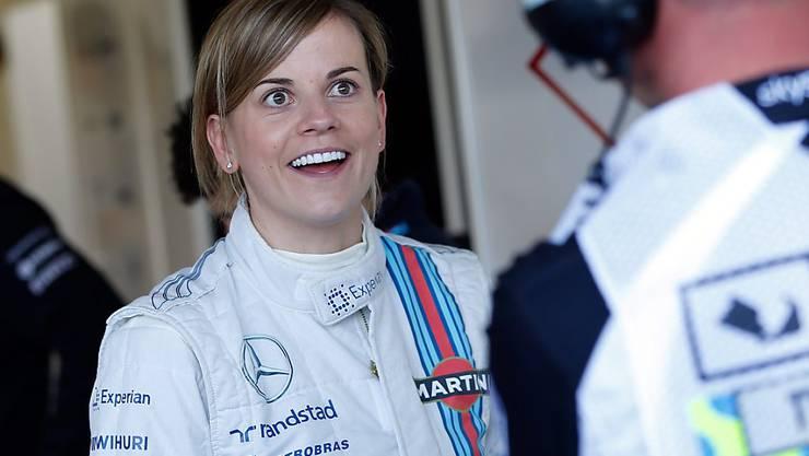 Susie Wolff war als letzte Frau an Grand-Prix-Wochenenden im Einsatz