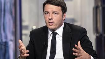 """""""Dort unten sind 500 Tote"""": Italiens Premier Matteo Renzi"""