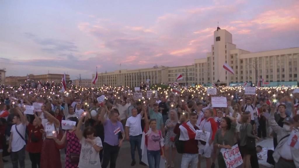 EU unterstützt Demokratiebewegung in Belarus