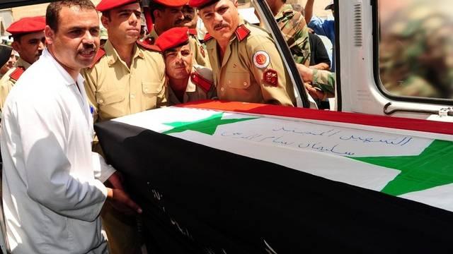 Der Konflikt in Syrien fordert Menschenleben auf beiden Seiten (Archiv)