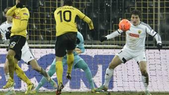 Moreno Costanzo (Nr. 10) traf für YB zum zwischenzeitlichen 2:1
