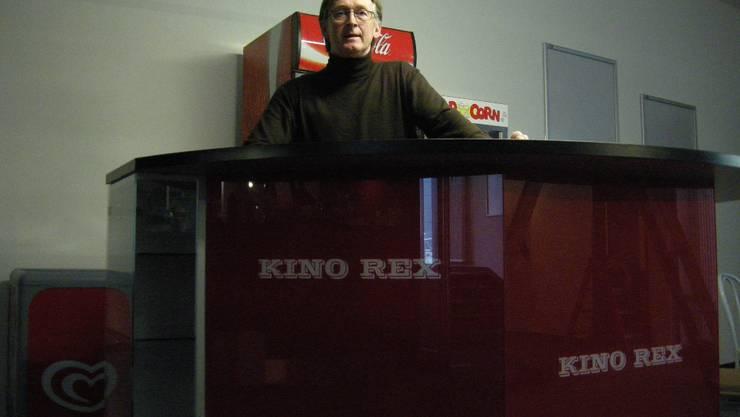 Betreiber Walter Loosli bangt um die Zukunft des Kinos Rex.