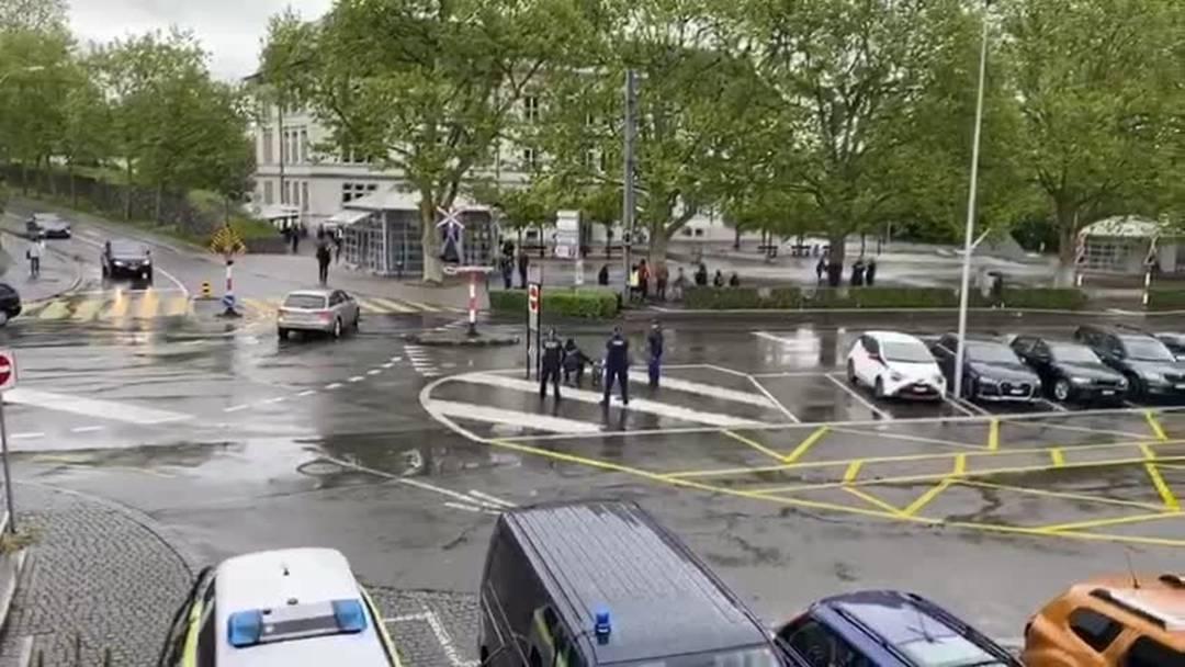 1. Mai 2020: Polizei verhindert Demonstration von 25 bis 30 Linksautonomen in Bremgarten