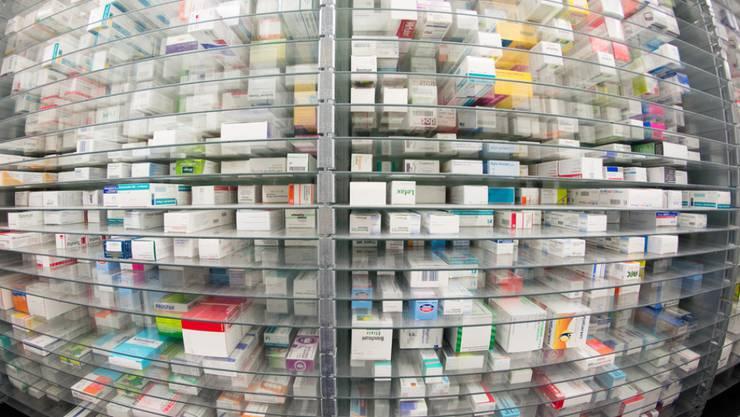 Nicht jederzeit volle Lager: 74 Mal ist in der Schweiz zwischen Oktober 2015 bis Ende 2016 ein Heilmittel oder ein Impfstoff knapp geworden oder kurz davor gewesen, knapp zu werden. (Symbolbild)