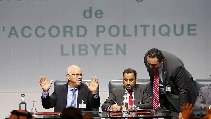 Erst im Dezember haben die libyschen Konfliktparteien einen Friedensplan unterzeichnet. Nun steht laut Medienberichten die Einheitsregierung des Landes. (Archiv)