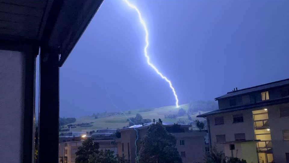 14'000 Blitze in einer Nacht