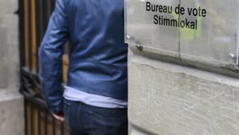 Die Wahlbeteiligung am Sonntag ist gegenüber vor vier Jahren in allen Kantonen gesunken - mit Ausnahme des Kantons Appenzell-Innerrhoden. (Archivbild)