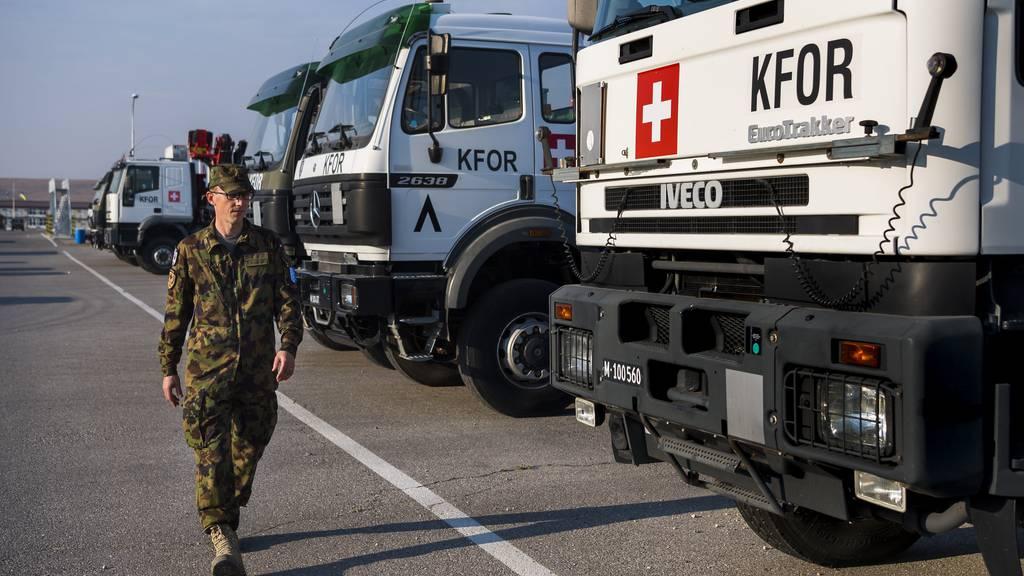 Swisscoy-Einsatz im Kosovo wird um drei Jahre verlängert