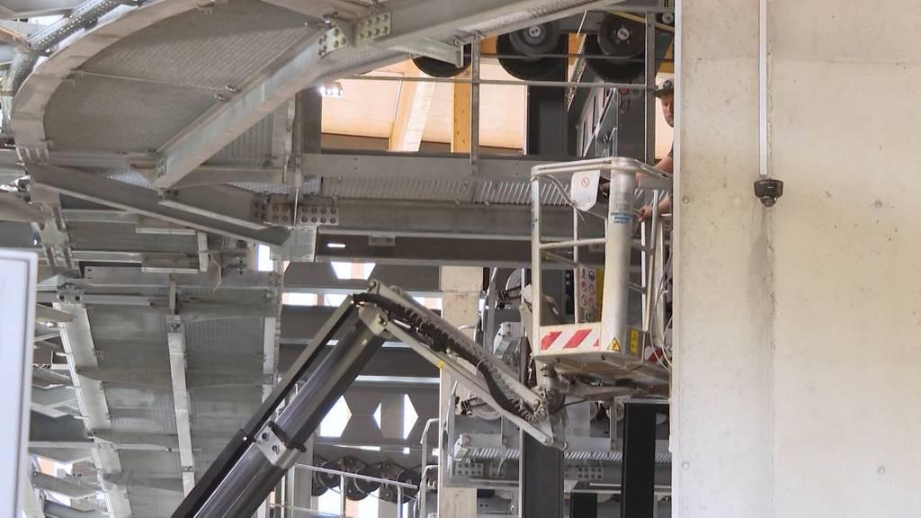 Aufwändiges Bauprojekt: V-Bahn verkürzt Reisezeit zum Eigergletscher