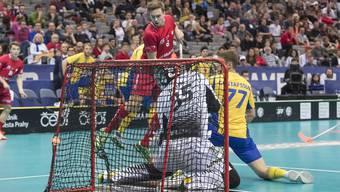 Unihockey WM Schweiz - Schweden