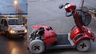 Hatte der Lieferwagenfahrer zu wenig aufgepasst?