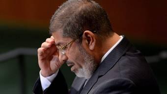 Gestürzter Präsident: Mohammed Mursi