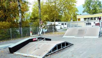 Rätselhaft: Selbst wenn der Skaterpark benutzt wird, ist er offenbar verwaist, was die Verantwortung angeht. (Bild: UBY)